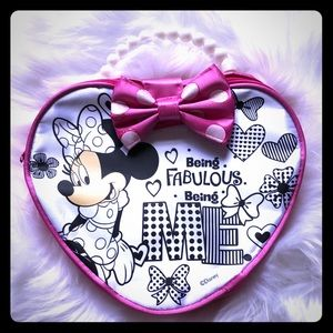 Minnie and Daisy girls color DIY purse